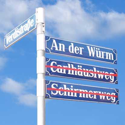 Umbenennung-Schirmerweg