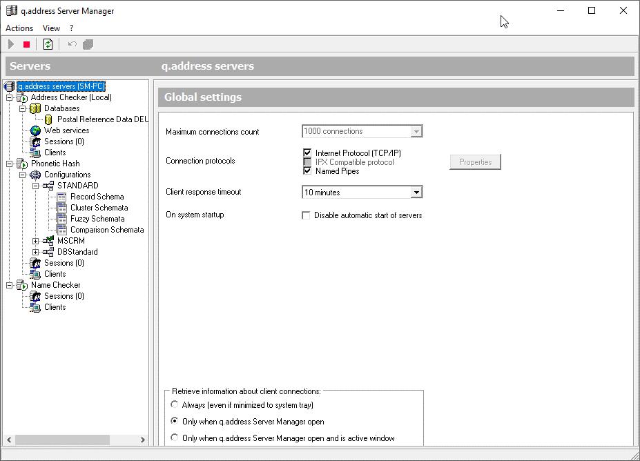 qaddress-Quality-Server