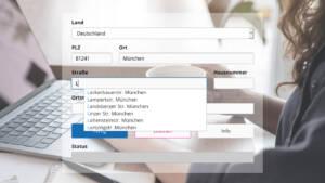 q.address Web Form Validation